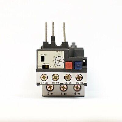 Teco Rhn-10k Thermal Overload Relay Amp Range 1.4 2.1a