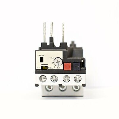 Teco Rhu-1010k1 Thermal Overload Relay Amp Range 7.2 10a