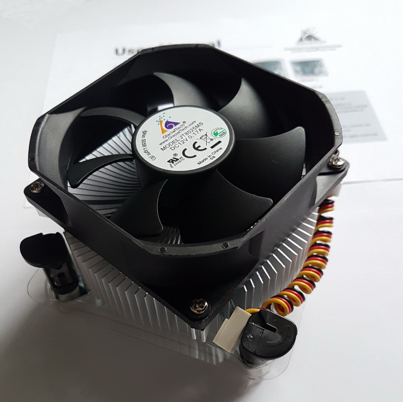 for Delta DSB0812M DC12V 0.14A 8025 2 wire cooling fan 80 25MM 80