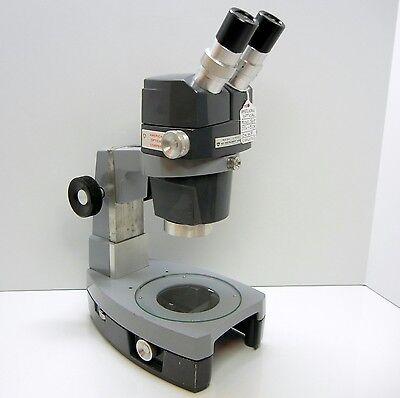 American Optical 569 Stereo Zoom Microscope Desk Stand 10xwf Eyes 30x Mag 356