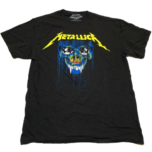 Metallica World Wired Tour Shirt Pasadena Rose Bowl July 29th 2017 Adult Mens L