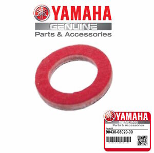 10 YAMAHA OEM Outboard Lower Unit Oil Drain Gasket 90430-08020-00 90430-08003