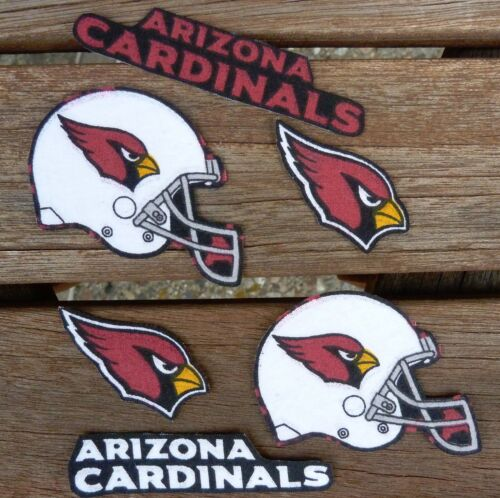 Iron On Sew On Transfer Applique Arizona Cardinals Cotton Fabric Patches Patch