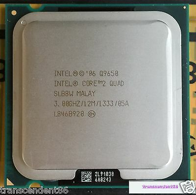 Used, Intel Core 2 Quad Q9650 Processor (3.0GHz /12MB Cache /FSB 1333 )Desktop LGA 775 for sale  China