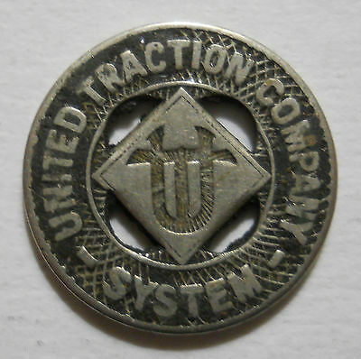 United Traction Company System (Albany, New York) transit token - NY10A