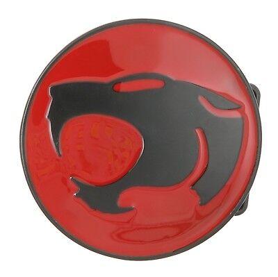 ThunderCats Black/Red Logo Metal Belt Buckle