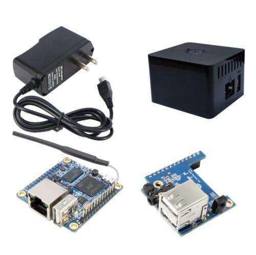 Orange Pi Zero H2 Quad Core 512MB w/ Wifi Antenna with PSU & Expansion Case Kit
