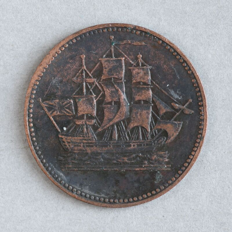 Ships Colonies & Commerce Token (Prince Edward Island, Canada)