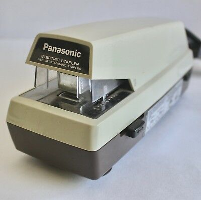 Vintage Panasonic As-300 Electric Stapler