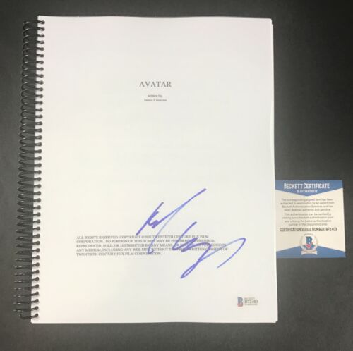 MICHELLE RODRIGUEZ SIGNED AUTOGRAPHED AVATAR FULL MOVIE SCRIPT BECKETT BAS COA
