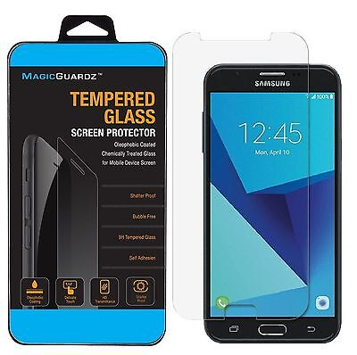 For Galaxy J7 Prime  T Mobile  Tempered Glass Screen Protector