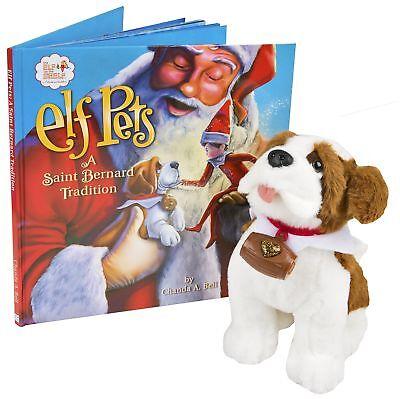 The Elf on the Shelf Pets: A Saint Bernard - Elf On The Shelf Stuffed Animal