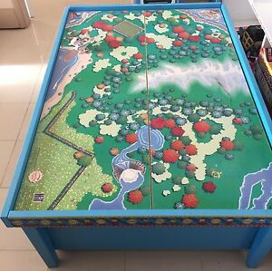 THOMAS & FRIENDS WOODEN RAILWAY TABLE Frenchs Forest Warringah Area Preview