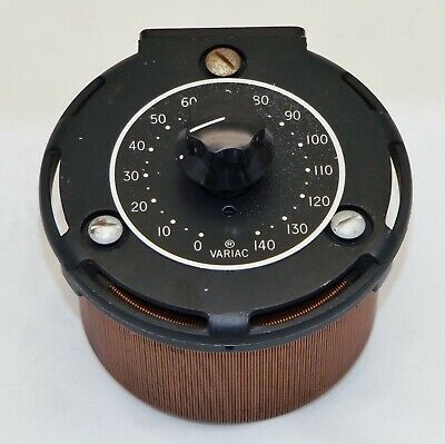 General Radio Type V5 Variac Autotransformer With Dial And Knob - Testedworking