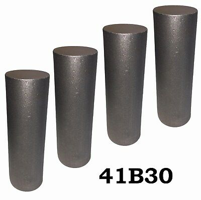 2.75 Round 4130 Steel Alloy Boron Rolled Bar Billets 4 7-8 Long 41b30 Hl