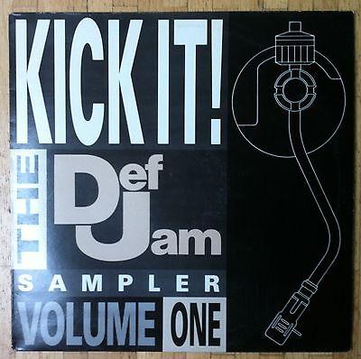 VARIOUS ARTISTS Kick It - Def Jam Sampler Volume 1 LP/U.K.