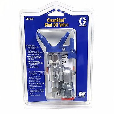 Graco 287030 180 Degree Angle Shut Off Valve Spray Gun Adapter 78 22mm