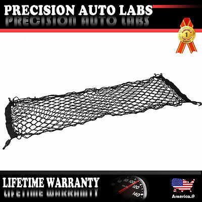 Universal Accessories Rear Envelope Trunk Mesh Cargo Net for Car Pickup SUV New