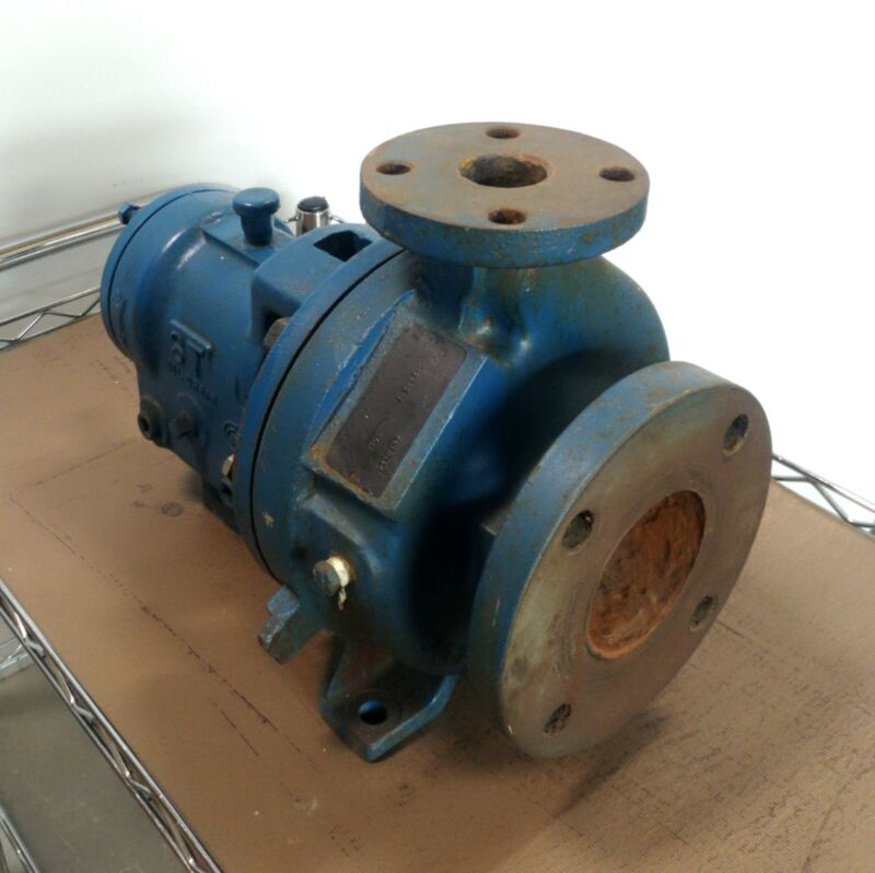 """Goulds Pumps 3196 Centrifugal Pump 1.5x3-6 5"""" Impeller 80GPM In: 1.5"""" Out: 3"""""""