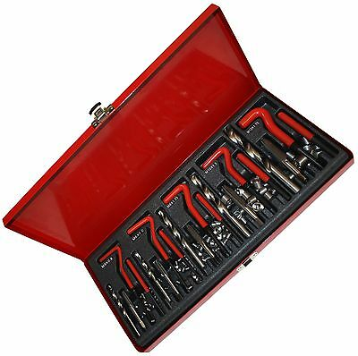 Thread Repair Master Kit. 5mm, 6mm, 8mm, 10mm, 12mm
