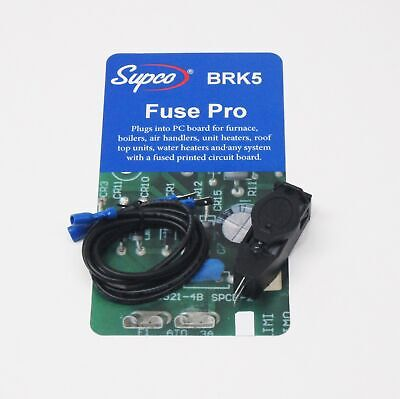 Supco Brk5 Fuse Pro 5 Amp Tester With Light