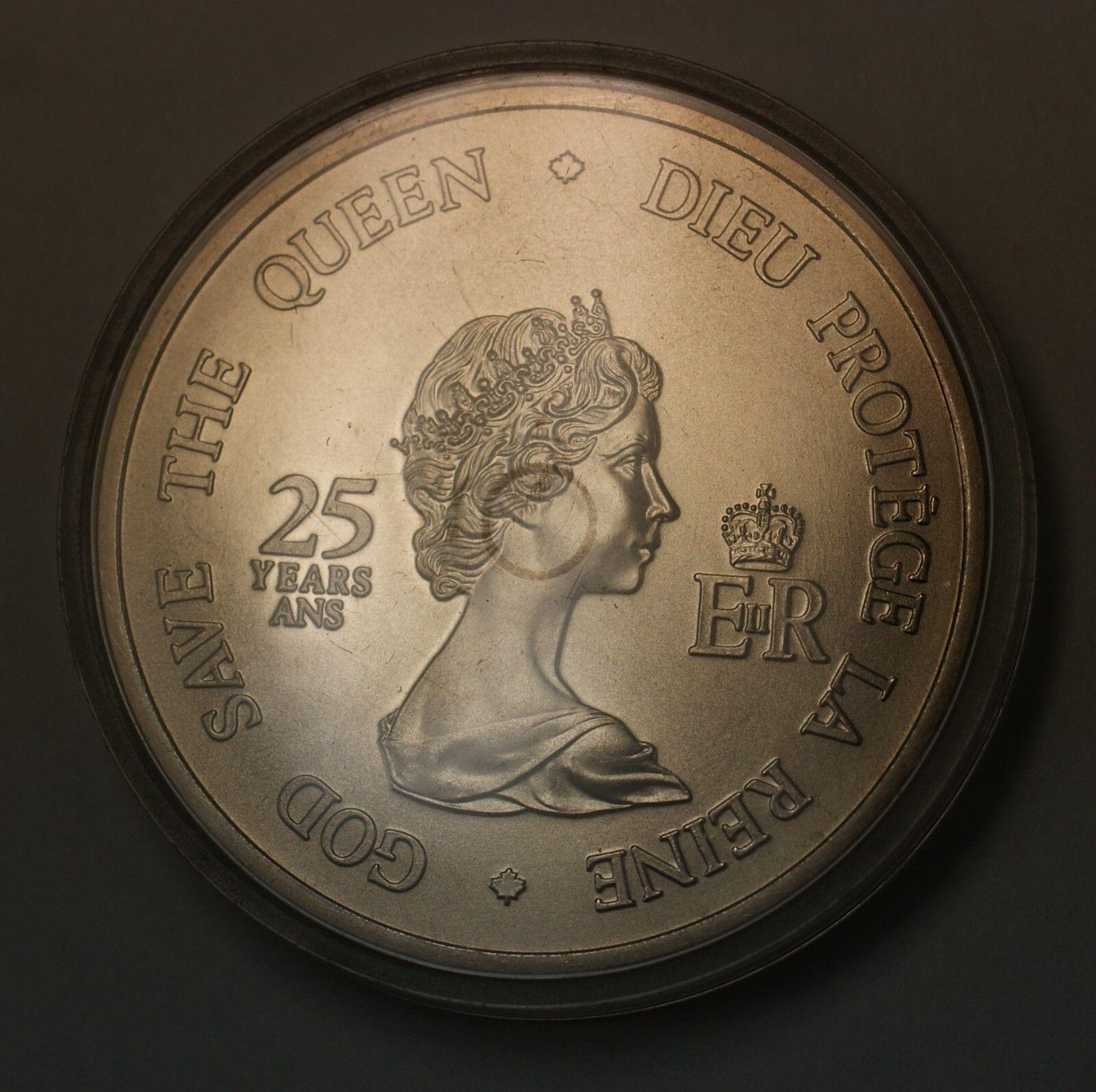 Canada 1977 SILVER Dollar .500 Fine