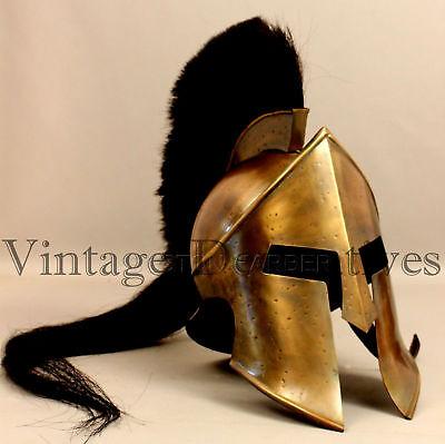 300 König Leonidas Spartaner Helm Krieger Kostüm Rüstung Mittelalterlicher Gerek