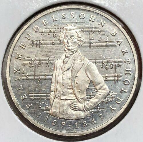 Germany 5 Mark 1984-J KM#161 Felix Mendelssohn Bartholdy