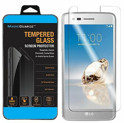 Premium Tempered Glass Film Screen Protector For LG Aristo LV3 MS210 K8 2017