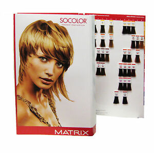 Matrix Socolor Hair Color Swatch Book Amp Haircoloring Handbook  EBay