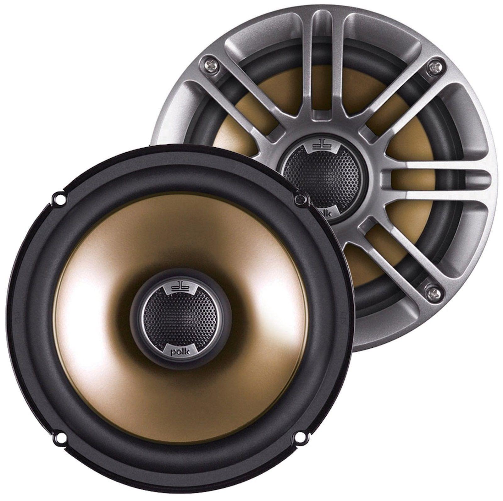 Polk Audio DB651 6 5\ 2 Way 360W Car/Boat/Marine Audio Stereo Coaxial Speakers