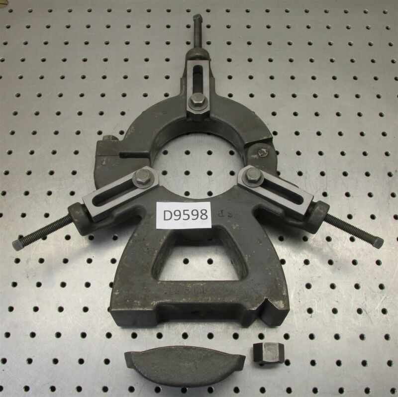 """South Bend 13"""" Lathe Original Steady Rest W/ Bed Clamp - - - - - D9598"""