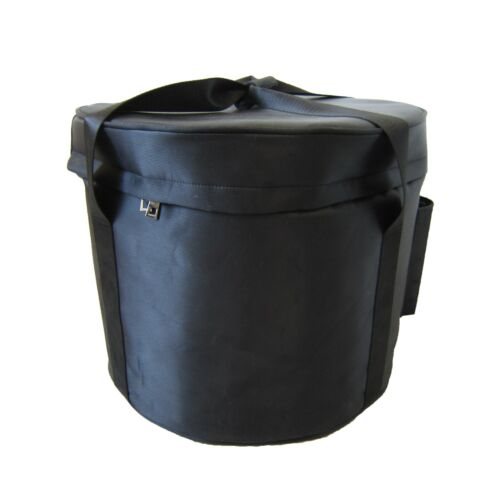 18 Inch Carrier (Carrying Case) for Crystal Singing Bowl (Black color)