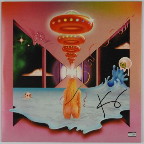 Kesha JSA Signed Autograph Record Album Vinyl Rainbow LP