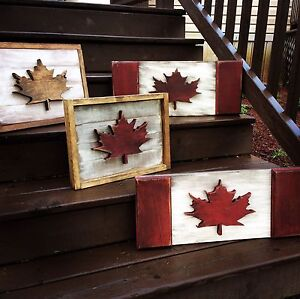 Canadian Maple Leaf Signs