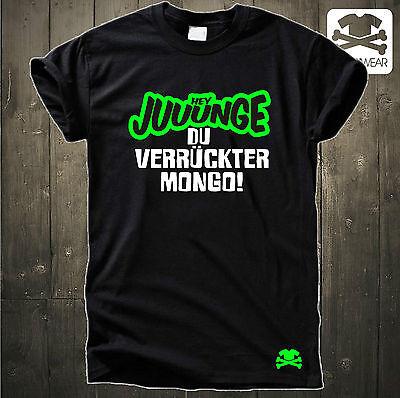 HEY JUUUNGE - DU VERRÜCKTER MONGO TURBO MAASKANTJE NEW KIDS PARTY FUN SHIRT (Hey Du)