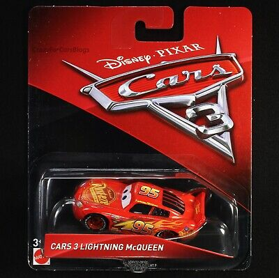 """Cars 3 Lightning McQueen"" - Disney/Pixar Cars 3 Mattel  **PACKAGE MAY VARY**"