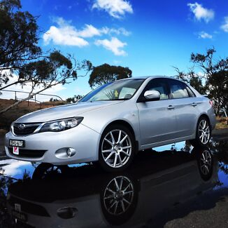 2008 Subaru Impreza RX Sedan 5sp manual 4cyl 2L engine