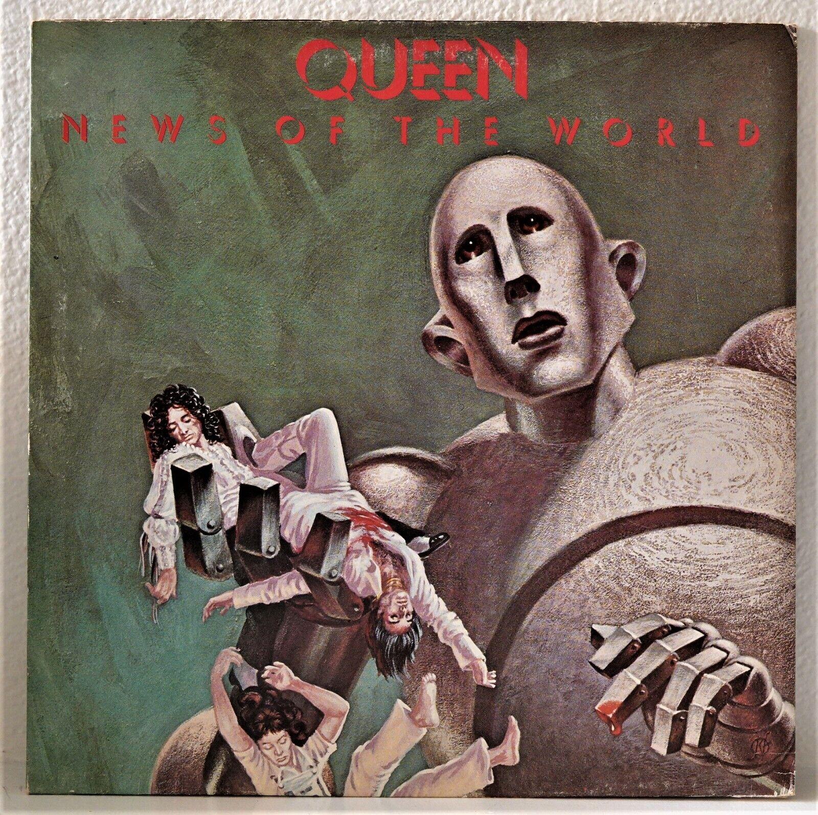 Queen - News Of The World Vinyl LP UK First Pressing 1977 EX Vinyl  - $28.00