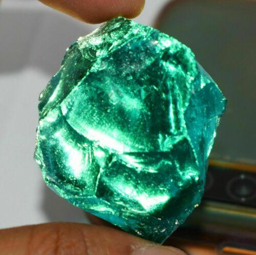 Exclusive Piece 193 Ct Certified Brazilian Green Amethyst Uncut Rough Gemstone