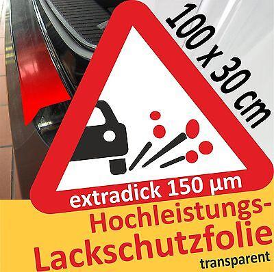 Auto Kfz Steinschlagfolie Lackschutz Folie transparent Klar 30 x 100 cm