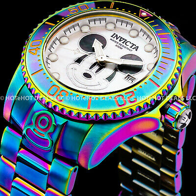 Invicta Grand Diver DISNEY LIMITED EDITION AUTOMATIC MICKEY MOUSE 300MT SS Watch