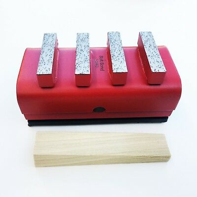 New 3pk 3040 Soft Bond Diamond Grinding Blocks For Edcostow General Grinders