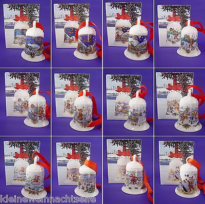 nachtsglocken, 1978 - 2018 mit OVP, 7cm  - Einzelverkauf - (Weihnachten Dekorationen Verkauf)