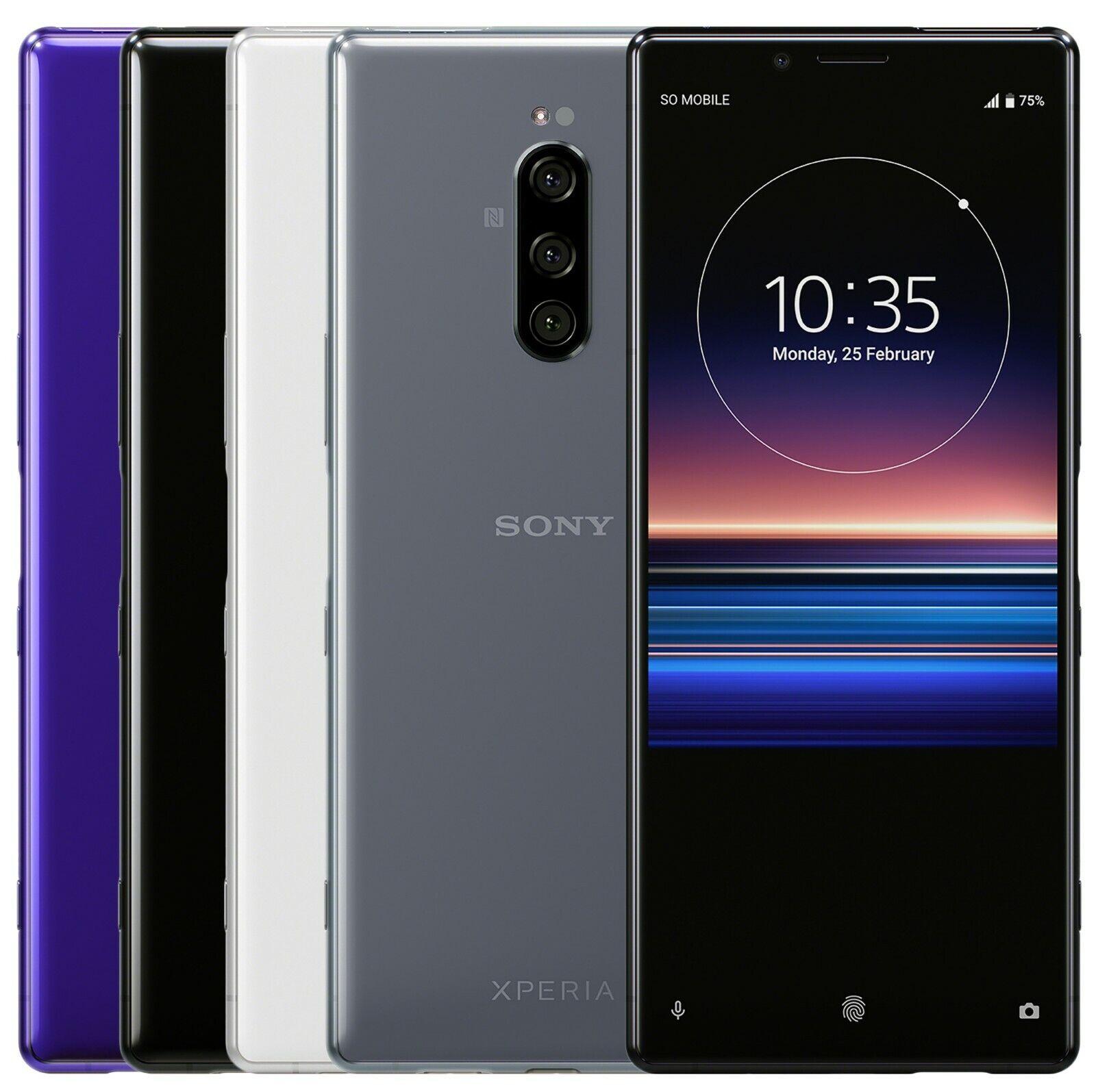 "Sony XPERIA 1 J9110 128GB 6GB RAM  6.5"" OLED Dual Sim"