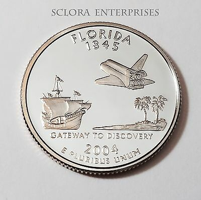 2004 S FLORIDA *PROOF* STATE QUARTER   **FREE (2004 Florida State Quarter)