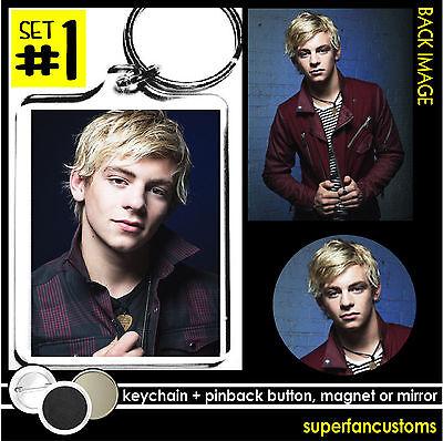 Ross Lynch Keychain   Button Or Magnet Or Mirror Teen Beach Austin   Ally  1496