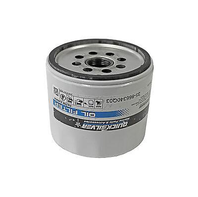 Mercury Quicksilver Ölfilter 35-866340Q03 Filter für Mercruiser Volvo Z-Antrieb