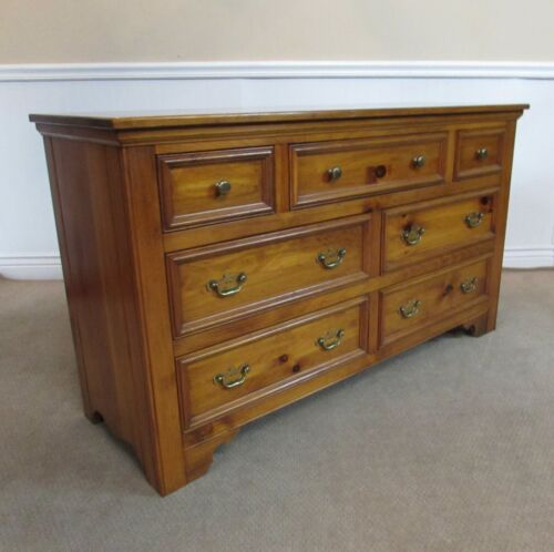 Pennsylvania House Dresser, 7 Drawer Low Chest, (a)