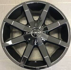 SET OF FOUR (4) KMC 20x8.5 6/139.7 et38 SLIDE Gladesville Ryde Area Preview
